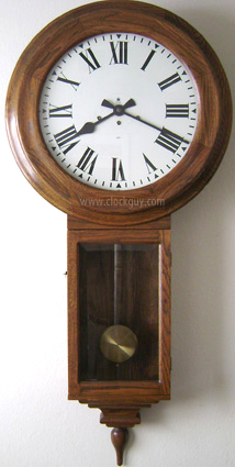"Gazo ""Old Town"" in Solid Oak ~ Antique Clocks Guy"