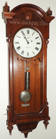 Seth Thomas Regulator No. 6 in Walnut ~ Antique Clocks Guy