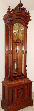 1884 Seth Thomas Regulator No. 15 ~ Antique Clocks Guy