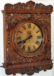 "Gazo ""London Bank Gallery"" in Oak - Antique Clocks Guy"