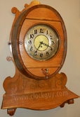 "Gustav Becker ""Beer Barrel Clock"" ~ Antique Clocks Guy"