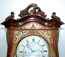 M. Herz – Inlaid Grand Sonnerie Vienna Regulator ~ Antique Clocks Guy