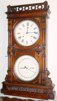 Seth Thomas Parlor Calendar No. 10 in Walnut ~ Antique Clocks Guy