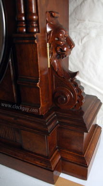 Seth Thomas Parlor Calendar No. 10, c.1892 in Walnut ~ Antique Clocks Guy