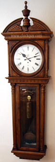 "Gazo ""Scottsdale"" in Alder ~ Antique Clocks Guy"
