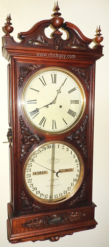 Ithaca Regulator No. 1, c.1875 ~ Antique Clocks Guy