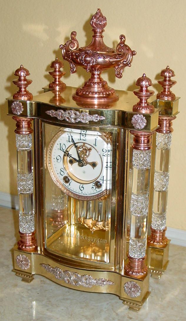 Ansonia Clock Company History Antique Clocks Guy We