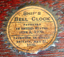 Chelsea Original Label (file photo) - Antique Clocks Guy
