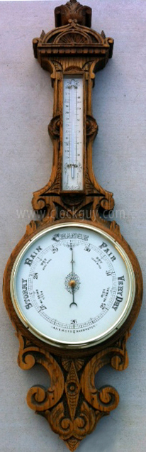 "Gazo ""BTR"" Barometer ~ Antique Clocks Guy"
