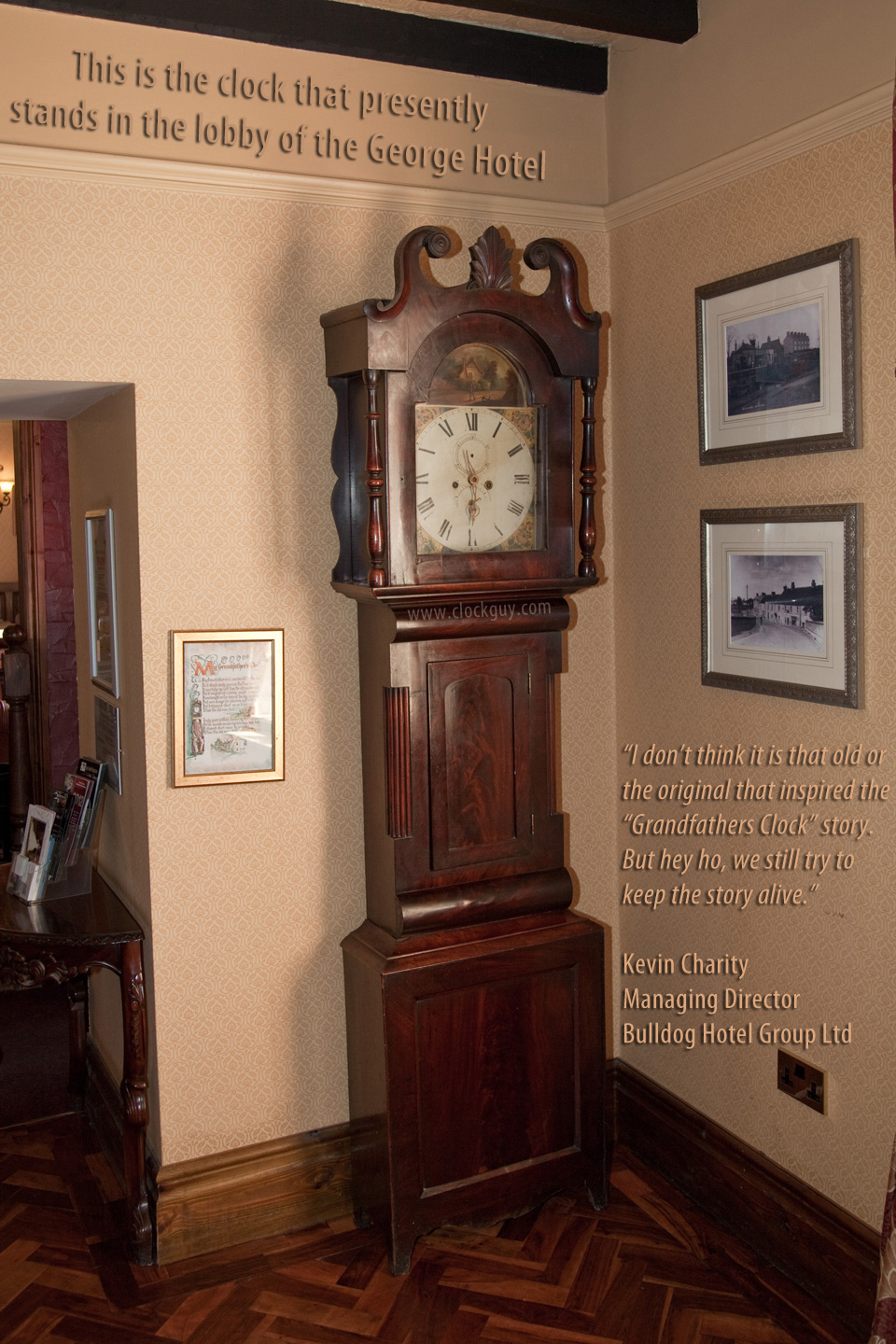Antique Home Library: Grandfather Clock Detailed History With Photos