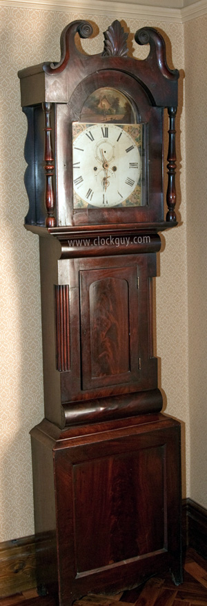 Grandfather Clock Detailed History with Photos ~ Antique ...