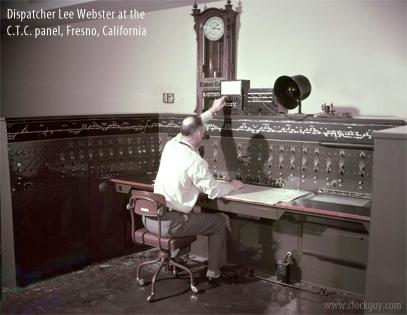 Sfrr Montgomery Dial History Santa Fe Route Clocks