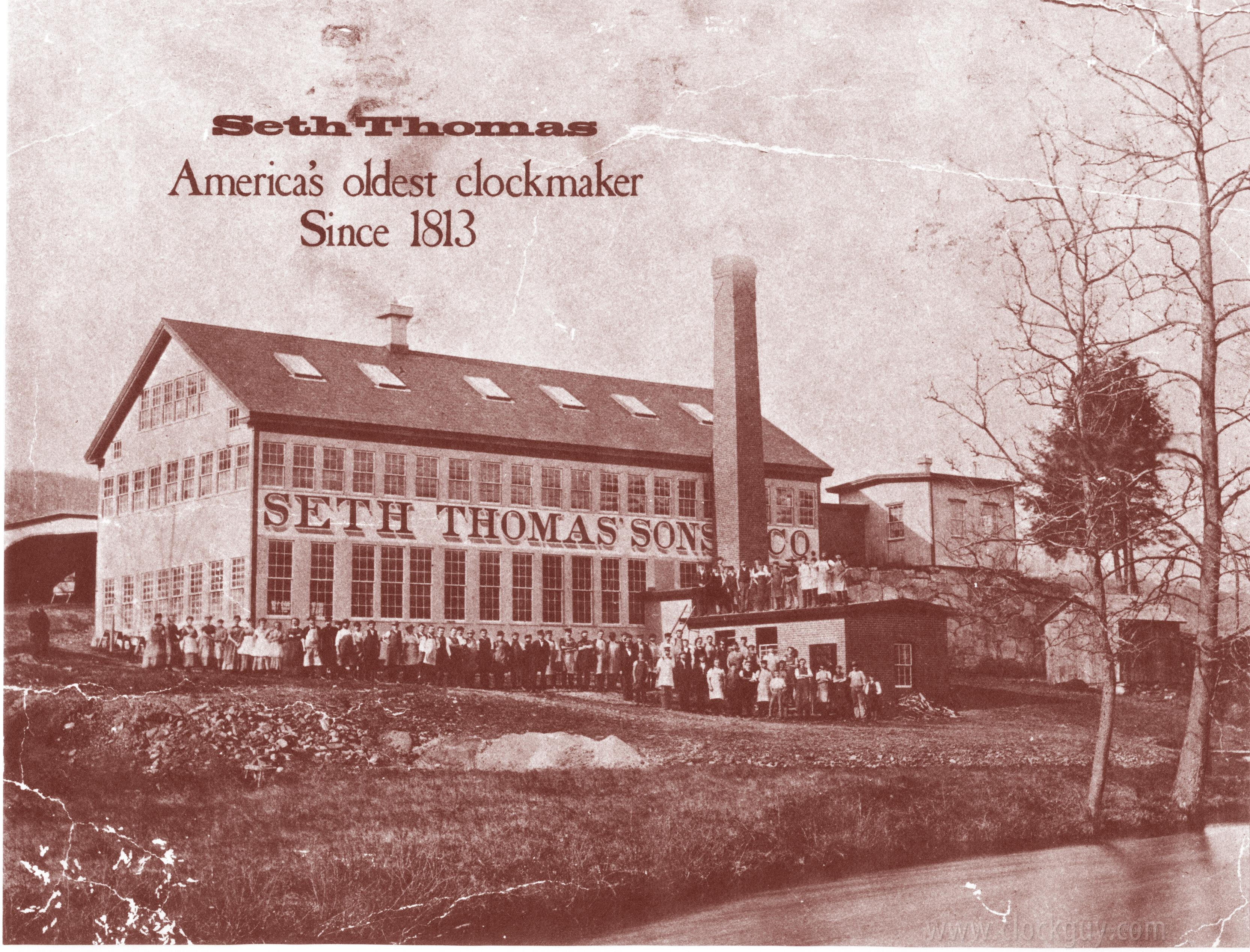 Seth Thomas Clock Company History Antique Clocks Guy We