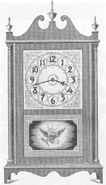 Click to view the enlarged catalogue scan ~ Antique Clocks Guy