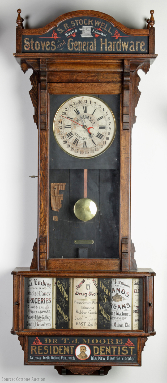 Sidney advertising clock company history antique clocks guy sidney advertising clock co antique clocks guy amipublicfo Images